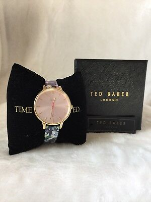1f01711f766 Ted Baker London Kate Watch - Leather Strap with Floral Print