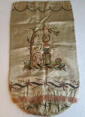 RARE CREWEL BAG 18th CENTURY HAMMER COLLECTION RUSSIAN IMPERIAL TREASURES #2940