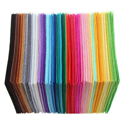 DIY fabric pieces of cloth material Non-woven pure color Soft fashion onsale