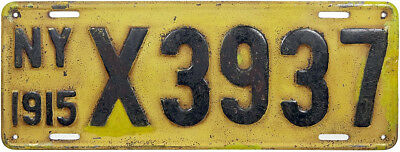 1915 NEW YORK license plate (GIBBY GOOD)