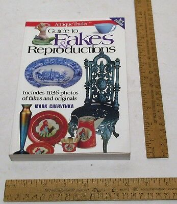 Guide to FAKES & REPRODUCTIONS - Antique Trader - illustrated paperback BOOK
