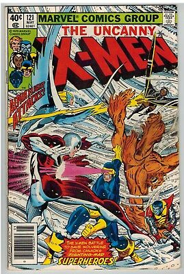 Uncanny X-Men #121 1979 1St Full Alpha Flight Marvel Bronze Age!
