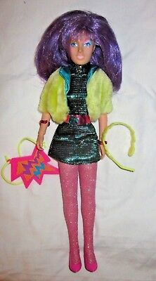 Vtg 1987 Hasbro Jem-Clash Biggest Fan Of The Misfits-Complete-Video's Cousin