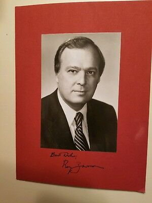 Autographed Photo of PA ATTORNEY GENERAL ROY ZIMMERMAN Harrisburg DICKINSON LAW
