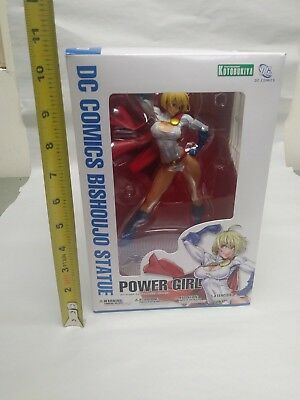 Kotobukiya Bishoujo DC Comics POWER GIRL 1/7 PVC Figure Statue IN BOX 2ND ED.