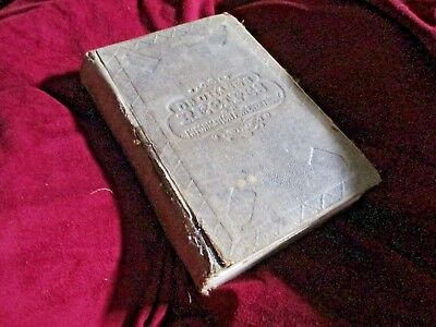 RARE 1866 ANTIQUE MEDICAL HERBAL MEDICINE HOLISTIC Recipes BOOK
