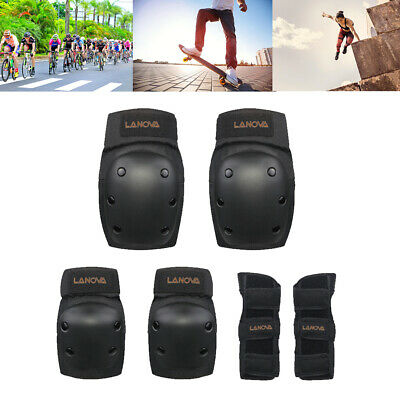 Adults Kids Protective Gear Set Skateboard Skating Knee Elbow Wrist Safety Pads