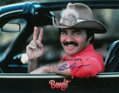 Burt Reynolds 8X10 Authentic In Person Signed Autograph Reprint Photo Rp