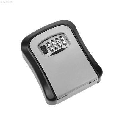 9BF3 Home Security 4-Digit Password Money Cash Key Safe Box with Combination Loc