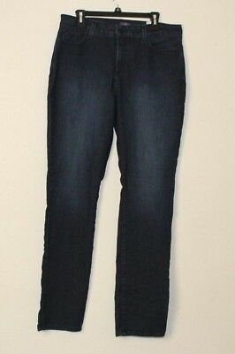 NYDJ Not Your Daughters Jeans Lift Tuck Slim Beaded Pockets Jeans 16 K124