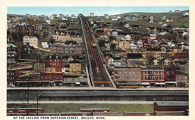 C11-6604, Up The Incline From Superior St., Duluth, Minn., C1924,