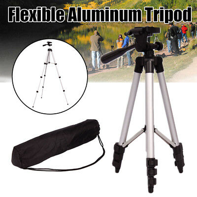 Portable Locking Camera Tripod Stand Cell Phone Holder for Canon Camcorder Nikon