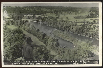 Old Rppc, Hwy 62 Before Formation Of Lake Norfork, Ar. Area Now Under Water