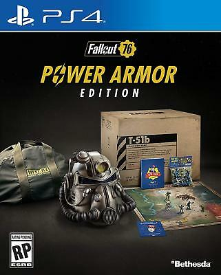 Fallout 76 - Power Armor Edition [Sony PlayStation 4 PS4 Bethesda FPS RPG] NEW