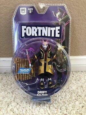 """Fortnite Figure 4"""" DRIFT Solo Mode Epic Game Jazwares In hand Free Ship"""
