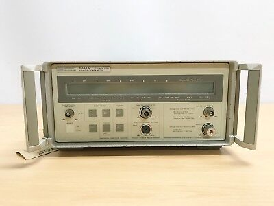 Agilent HP 5348A Counter / Power Meter 10Hz - 26.5GHz (OPT : 006 Limiter)