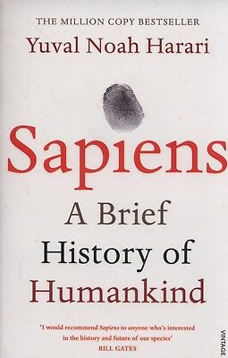 Sapiens: A Brief History of Humankind by Yuval Noah Harari Paperback Book NEW