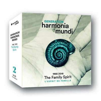 "NEU CD  - Generation harmonia mundi 1988 - 2018 ""The Family Spirit"" #G59444627"