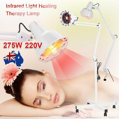 275W Infrared Heat Therapy Lamp Pain Relief Therapeutic Floor Stand/Desktop Lamp