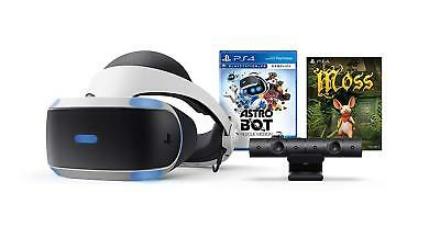 PlayStation VR Astro Bot: Rescue Mission + Moss Bundle [Sony PlayStation 4 PS4]