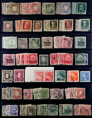 Germany: Classic Era To 70's Stamp Collection/inventory Of 2,800+ Make An Offer