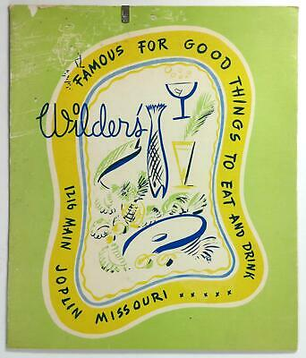 1953 ORIGINAL MENU ISBELL'S Restaurant Chicago IL HUNTER