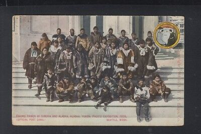 USA PPC Eskimo Tribes of Siberia and Alaska Pacific Exposition 1909
