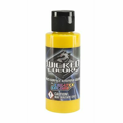 (14,40€/100ml) Createx Wicked W052 Detail Yellow 60ml Airbrush Farbe