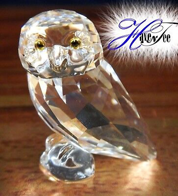 Owlet Clear Owl Bird 2018 Swarovski Crystal 5302522