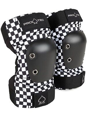 Pro-Tec Checker Street Pair of Skateboarding Elbow Pads