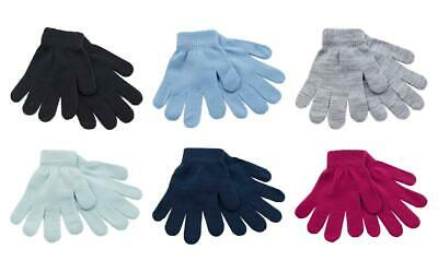 2 Pack Boys Girls Childrens Thermal Magic Gloves GL105 Assorted Colours