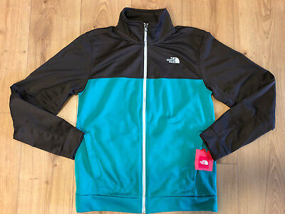 c797b1c83 THE NORTH FACE Mens 100 Cinder Full Zip Fleece Jacket Green All Sizes S-XL
