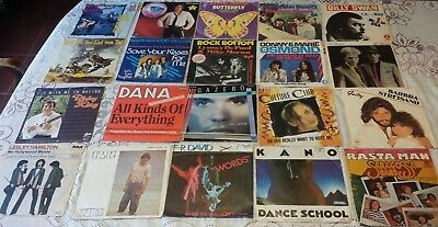 "20X Singles 7"" **collection 45 Vinyl Package #50 [70S 80S **disco Synth Italo..]"