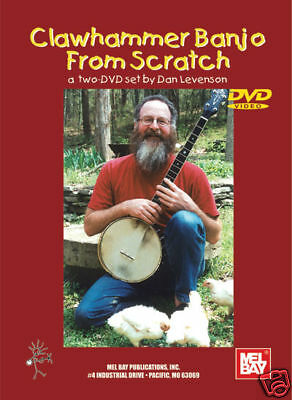 Clawhammer Style Banjo 2-DVD Set A Complete Guide for Beginning and Ad 000000334