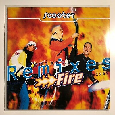 """♪♪ Scooter - Fire Remixes  Germany 12"""" Vinyl Rare ♪♪"""