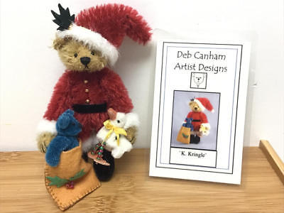 "Deb Canham, 2005 Fairytales Exclusive  4"" Teddy Bear - K Kringle (Le#55/100)"