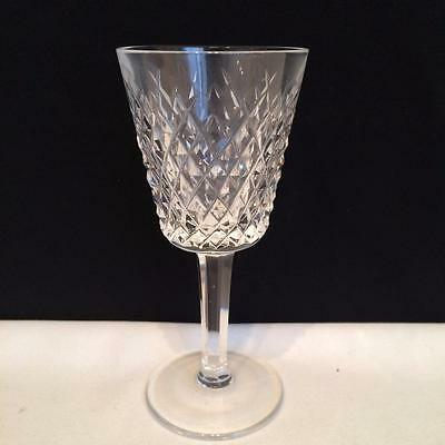 Set Of 6 Waterford Alana Crystal White Wine Glasses In Mint Condition Cr1248