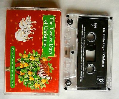 The Twelve Days Of Christmas. Great For The Kids. 7 Christmas Carols. Cassette