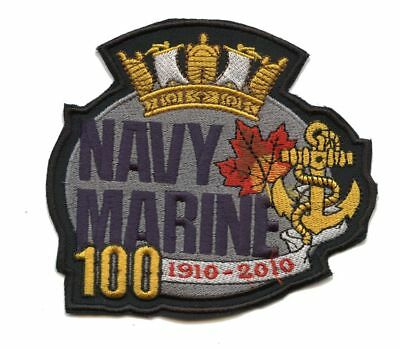 Royal Canadian Navy 100th Anniversary badge patch