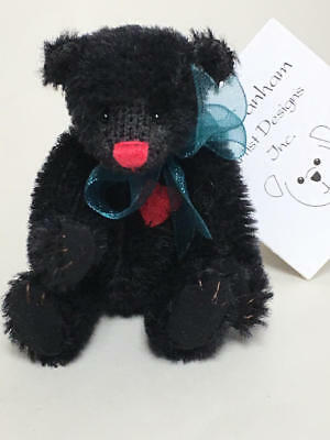 "Deb Canham Have A Heart Collection Miniature Teddy Bear ""kevin"" 980/1200"