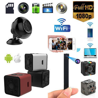 1080P Mini Spy Camera Wireless IP Hidden WIFI HD For Home Surveillance Camcorder