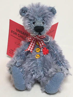"Deb Canham The Woebe's Collection Miniature Bear ""righty-O"" 143/1500"