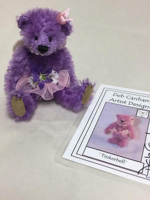 "Deb Canham 2011 Convention Fairy Stories Prize ""tinkerbell Purple Bear 4/30"