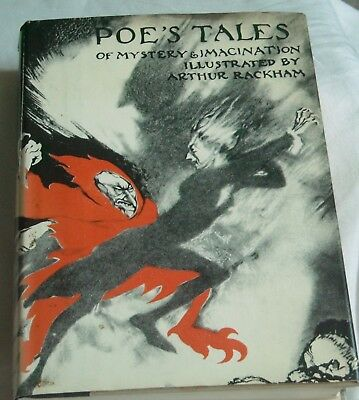 Poe's Tales Of Mystery & Imagination Illustrated By Arthur Rackham - Hb