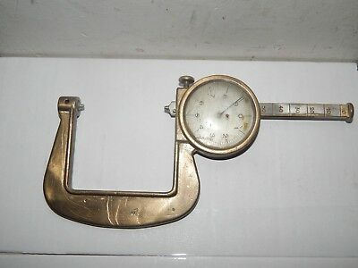 World War 2 Bronze Spring Loaded. German Measuring Calipers,Unknown Trade?Eagle.