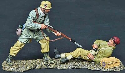 Thomas Gunn Ww2 German Dak Fallschirmjager Fj006B Cold Steel Desert Mib