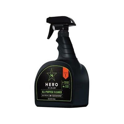 Hero Clean 32 oz All Purpose Cleaner Liquid for Multiple Surfaces - Pack of 6