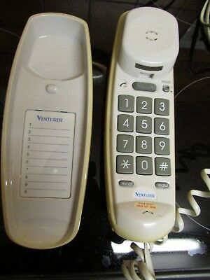 Vintage Venturer 212 Phone with Box and Manual
