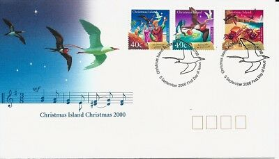 2000 Christmas Island - Christmas First Day Cover FDI