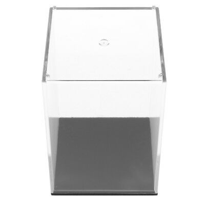 "2.7""x2.7""x3.9"" Clear Display Show Case Acrylic Box for Model Collections"
